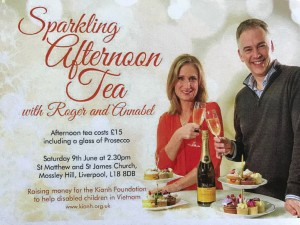 Sparkling Afternoon Tea @ St Matthew and St James church Mossley Hill