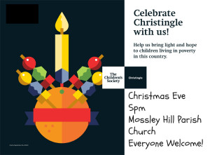 Christingle Service on Christmas Eve @ 5pm @ Mossley Hill Parish Church